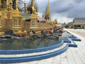 Phra Meru Mas - The royal crematorium for the late King Bhumibol Adulyadej